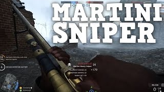 MARTINI-HENRY SNIPER UNLOCK - Battlefield 1 Multiplayer Gameplay (PS4 Pro)