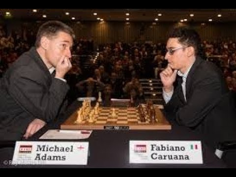 Fabiano Caruana-Michael Adams Rnd 9 Ruy Lopez (Isle of Man Chess Tournament)