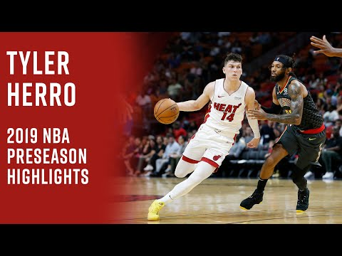 Is Tyler Herro The Dark Horse For Rookie Of The Year 2019 Preseason Highlights Youtube