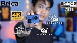 Paket Ultimate 38 in 1 Brica Bpro 5 4K AE IIIs Action Camera Original Baru Garansi