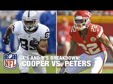 Raiders Amari Cooper vs. Chiefs Marcus Peters Rookie Showdown | X