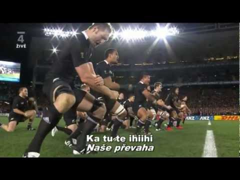 Kapa o Pongo Haka - All Blacks 2011 HD - CZ Subtitles