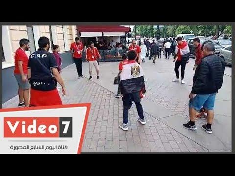 اليوم السابع :الجماهير المصرية تلعب
