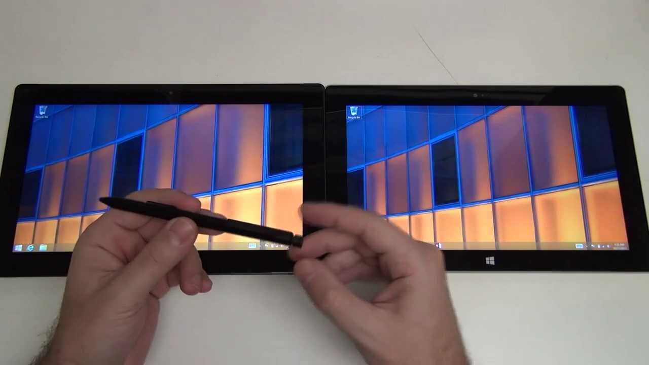 Microsoft Surface Pro 2 vs Surface 2