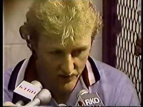 Clark Booth Reports: Boston Celtics win 1981 NBA Finals at Houston.