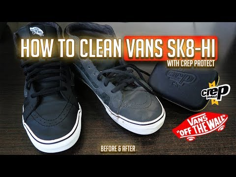 How to Clean Vans Sk8-Hi