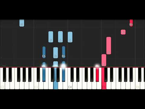 XxxTentacion - Everybody Dies In Their Nightmares (Piano Tutorial)
