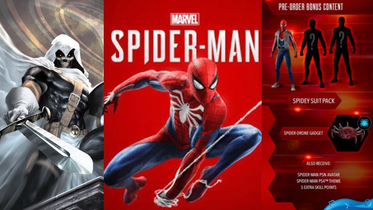 Marvel S Spider Man Ps4 New Details Suits Characters Pre Order