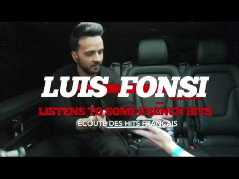 LUIS FONSI DÉCOUVRE LES HITS FRANÇAIS ! (KENDJI, JUL, SLIMANE, EDITH PIAF...)
