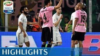 Palermo - Roma - 0-3 - Highlights - Giornata 28 - Serie A TIM 2016/17