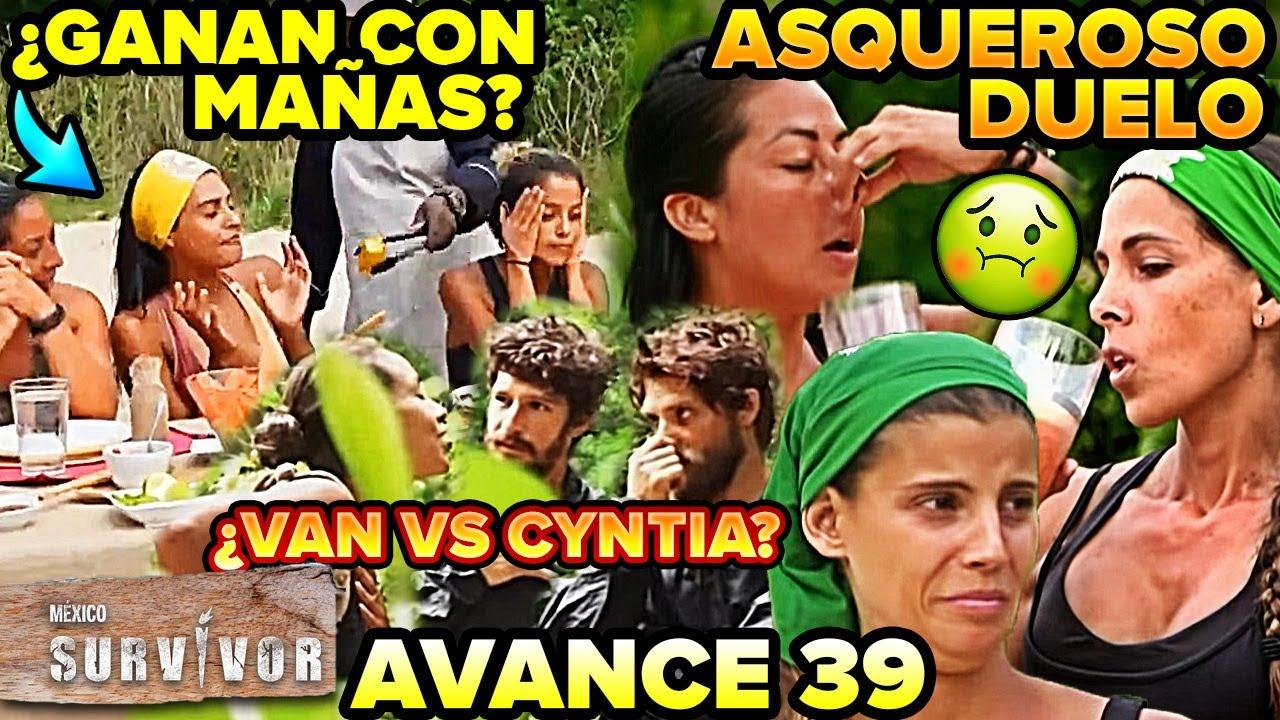 Survivor México 2. ¿Jaguares ganan con mañas? cap 38, Avance 39 ¿Se van vs Cyntia? Asqueroso duelo