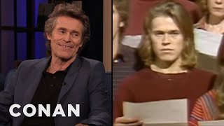 Willem Dafoe Pronounced His Name Wrong - CONAN on TBS