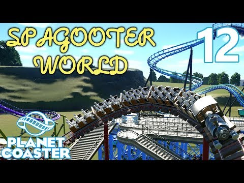 Planet Coaster SPAGOOTER WORLD - Part 12 - Mine Train Coaster!  