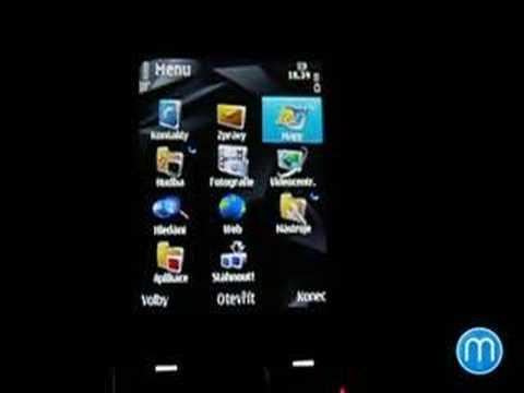 Nokia N78 - menu