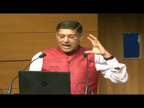 Live: Press Conference by Dr. Arvind Subramanian, Chief Economic Advisor, Ministry of Finance
