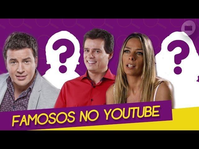 10 FAMOSOS QUE TEM CANAL NO YOUTUBE