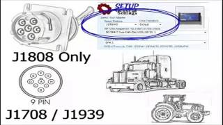 Introduction to Commercial Truck Diagnostic Protocol J1708 J1939 OBDII