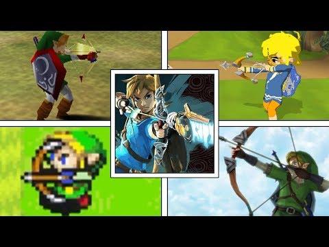 Evolution of Bows & Arrows in The Legend of Zelda Series (1986-2017)