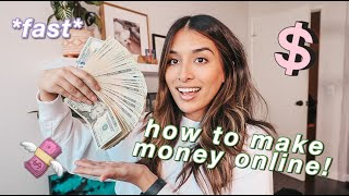 how i made $3k iฑ a week! | how to make money during quarantine *fast*