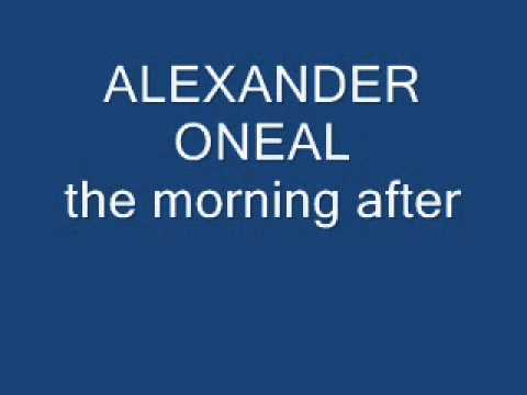 alexander oneal the morning after