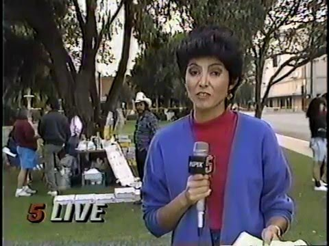 Liz Gonzales, Earthquake Report, KPIX, Oct. 18, 1989