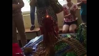 Лагерь Таинственный остров 2017 Усть-Лабинск. На острове произошёл взрыв вулкана.