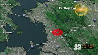 Early Morning Earthquake Wakes Up Bay Area Residents