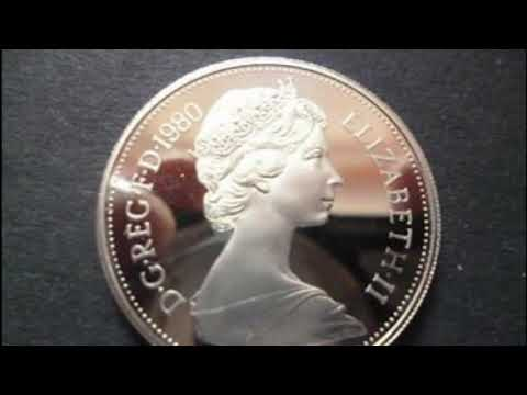 UK 1980 10 New Pence Coin VALUE - Queen Elizabeth II