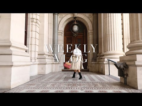 SHOOTING WITH BURBERRY + NOT EATING FOR TWO DAYS? | WEEKLY VLOG - TWICE BLESSED