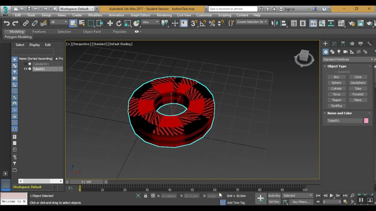 Export FBX file from 3DS Max to Unity