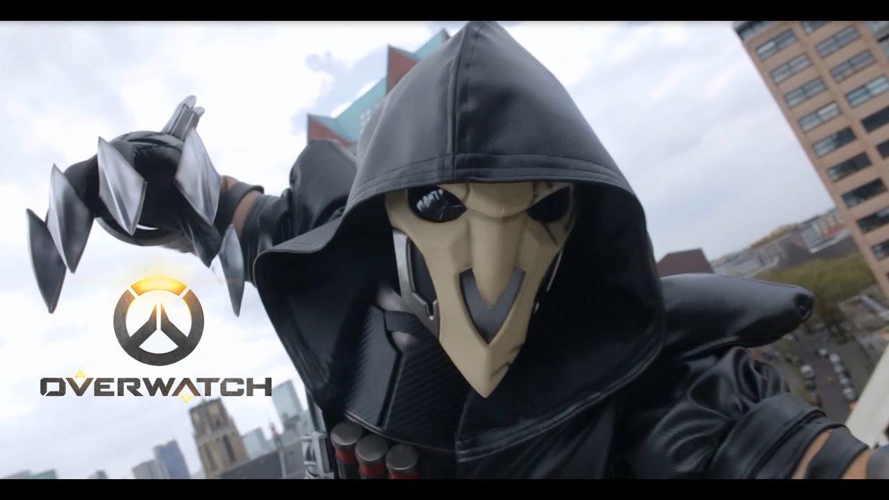 overwatch reaper cosplay youtube