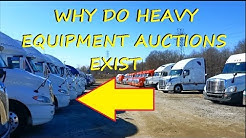 Heavy Equipment Auction??Buying Used Trucks+Trailers