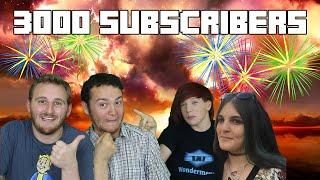 Wonderment 3000 Subscriber Special ! Q&A Vlog