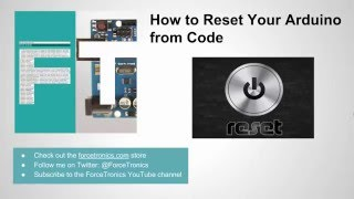 how to reset your arduino from code