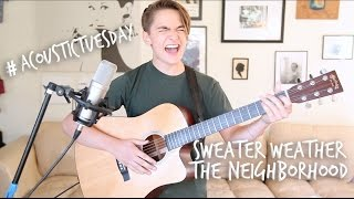 Sweater Weather - The Neighbourhood (Acoustic Cover by Ian Grey)