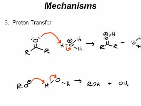 """Ch 5 VML """"Rules for Drawing mechanism arrows Proton"""