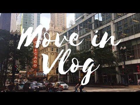 Moving To CHICAGO!!! | SAIC Vlog