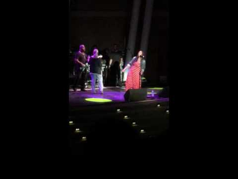 AWESOME Patti Austin surprises Lalah Hathaway during live performance