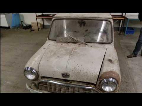 Restoring a classic Mini Austin Seven will amaze you...