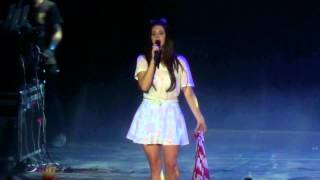 Lana Del Rey - Video Games (DVD/BR Indie Fun Fest / Movistar Arena / Chile / 12.11.2013)
