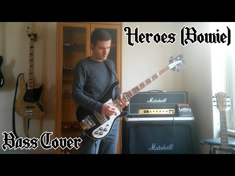 Motörhead - Heroes (David Bowie) [BASS COVER]