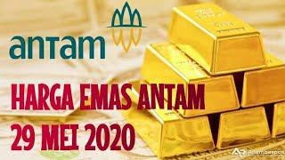 Harga Emas Antam Hari Ini 29 Mei 2020, Investasi Emas