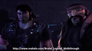 Brutal Legend Walkthrough - Mission 1: Welcome to the Age of Metal Part 1 - Introduction
