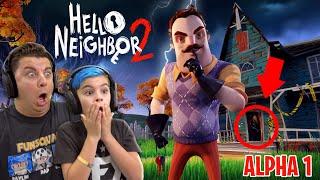 WE KIDNAPPED HELLO NEIGHBOR? Hello Neighbor 2 Alpha 1 (Secret Ending)