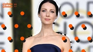 Outlander's Caitriona Balfe On Hot & Steamy Season 3 | 2017 Golden Globes | MTV News