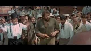 I quattro dell'Ave Maria - sfida tra Hutch (Bud Spencer) e un gigante nero