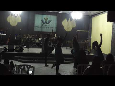 Coreografia - Até o céu descer ( Izaac Santos ) - Culto Jovem.