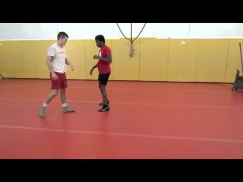 Chris Prickett Technique Session: Underhook Defense - Shuck By To Single Leg Finish
