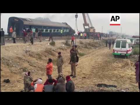 Rescuers finish search of Indian train wreck