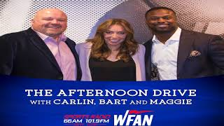 Carlin,Bart, & Maggie show open on Mike Francesa returning to WFAN and NFL draft